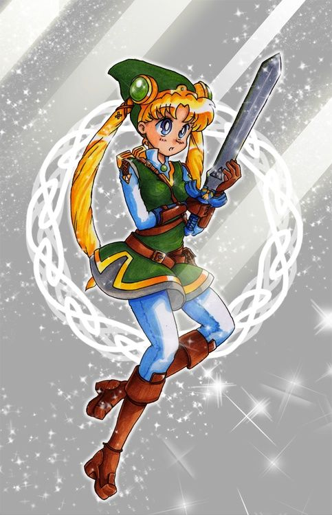 sailor moon link -- MY INNER CHILD IS SO HAPPY RIGHT, NOW YOU HAVE NO IDEA. Thank you for this :)
