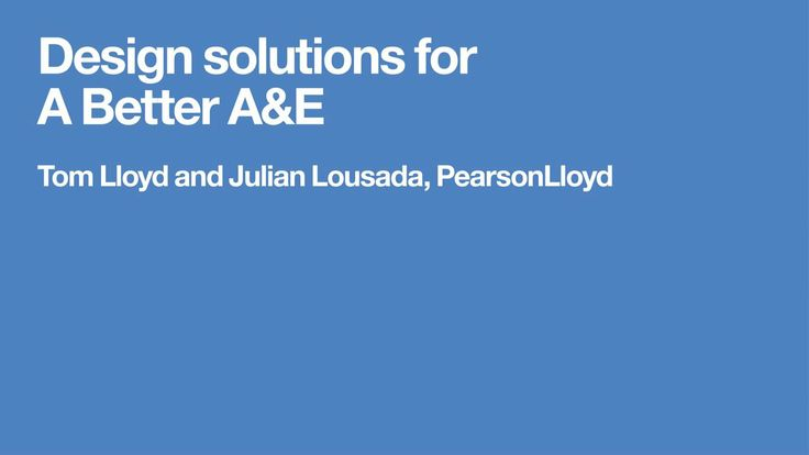 PearsonLloyd A\E Design Challenge impact evaluation on Vimeo - free assessment forms