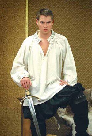 Renaissance Cross Shirt: Renaissance Costumes, Medieval Clothing, Madrigal Costumes by The Tudor Shoppe