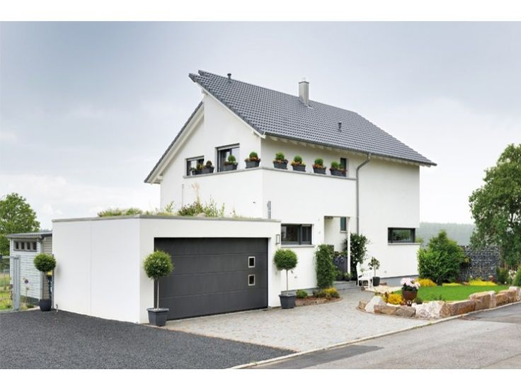 Doppelgarage modern pultdach  159 best Stadthäuser und -villen images on Pinterest | Balcony ...
