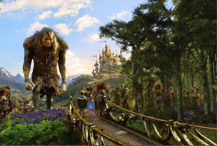 Movies: Bridge To Terabithia  Giant tree and Terabithians  Hailey