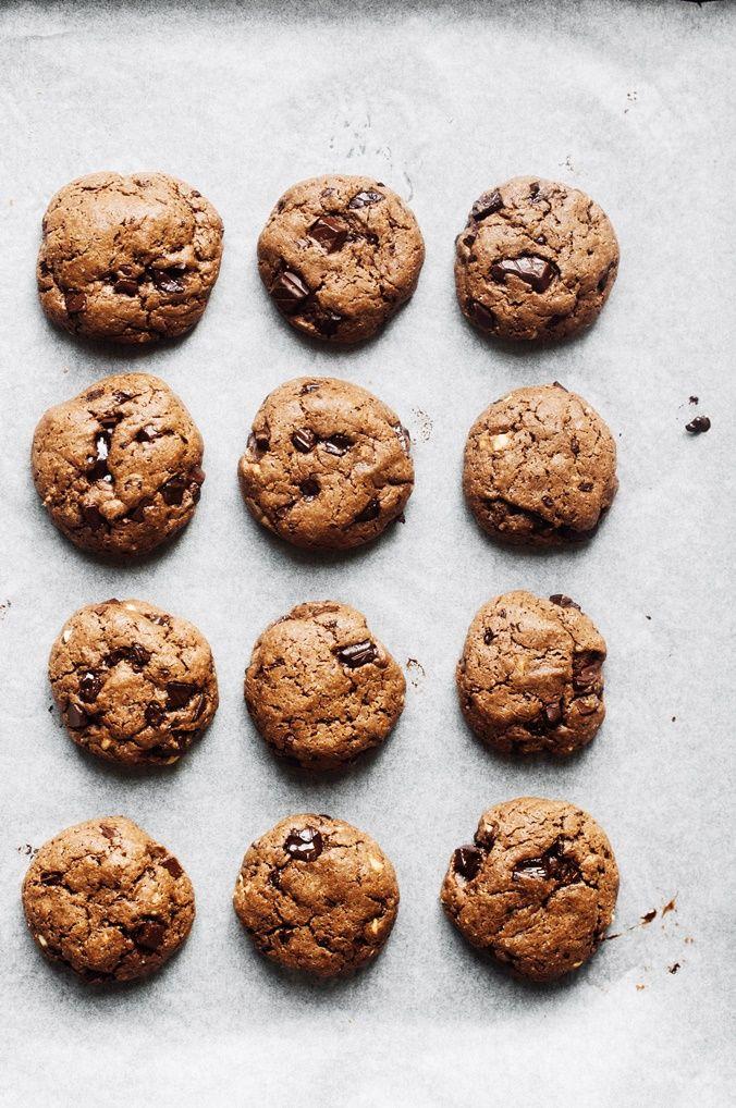 Peanut butter & chocolate cookies II ( df / v )