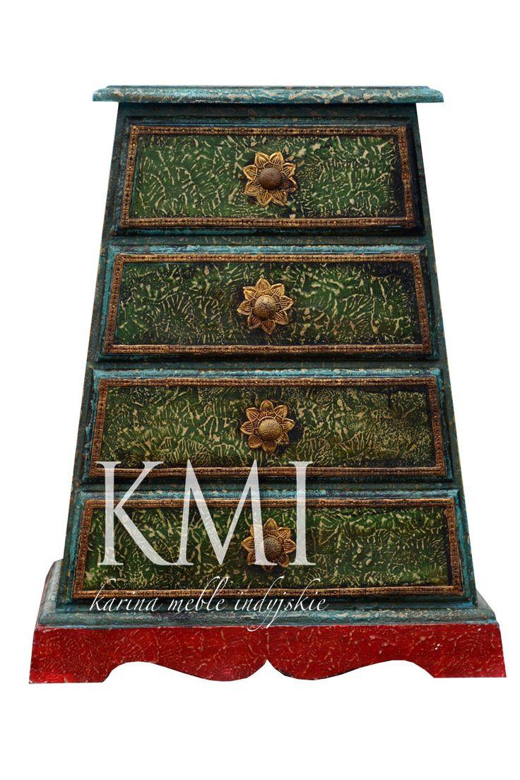 "indyjska szafka ""Mimi"" | meble orientalne"