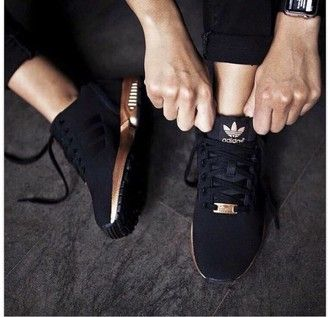 shoes rose gold adidas sports shoes black addias shoes gold black shoes adidas superstars adidas black gold sneakers adidas zx flux black sneakers black and gold adidas shoes low top sneakers