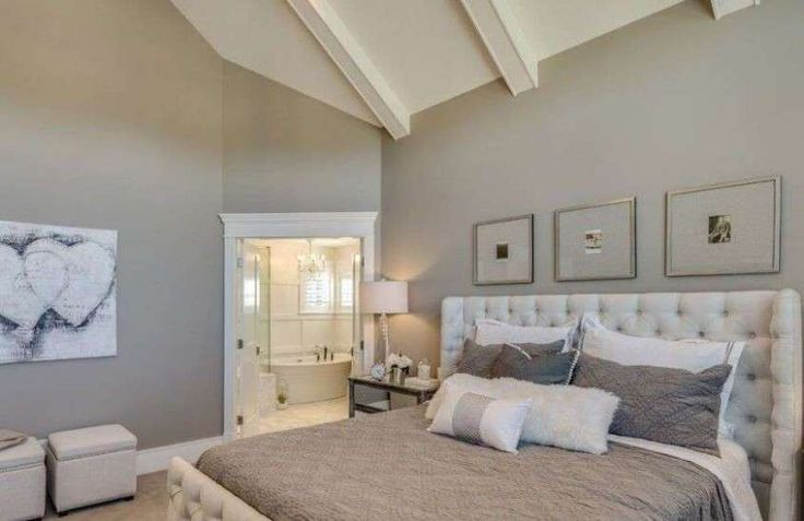 Idee camera da letto color tortora - Camera nelle tonalità del tortora