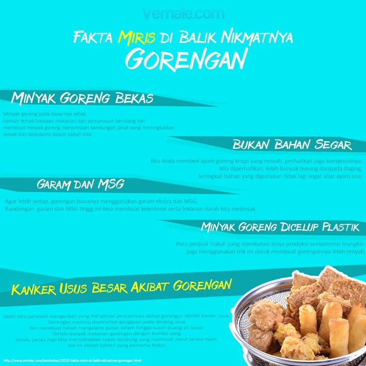 Awas, jangan asal makan gorengan. Ini fakta miris dibalik gorengan yang digoreng menggunakan bahan berbahaya