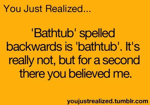 Haha I'm way too gullible