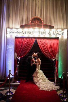 Movie Themed Wedding Reception Ideas