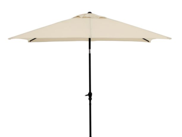 6 ft. x 9 ft. Oblong Umbrella Taupe