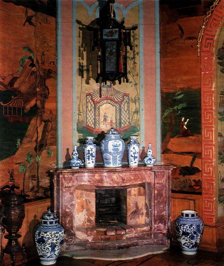 Oranienbaum. Ораниенбаум. Китайский дворец. Китайский кабинет. декор