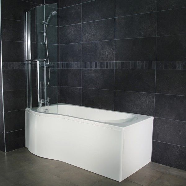 best 25 1500mm bath ideas on pinterest small bathroom concept idealform square 1500mm left handed shower bath