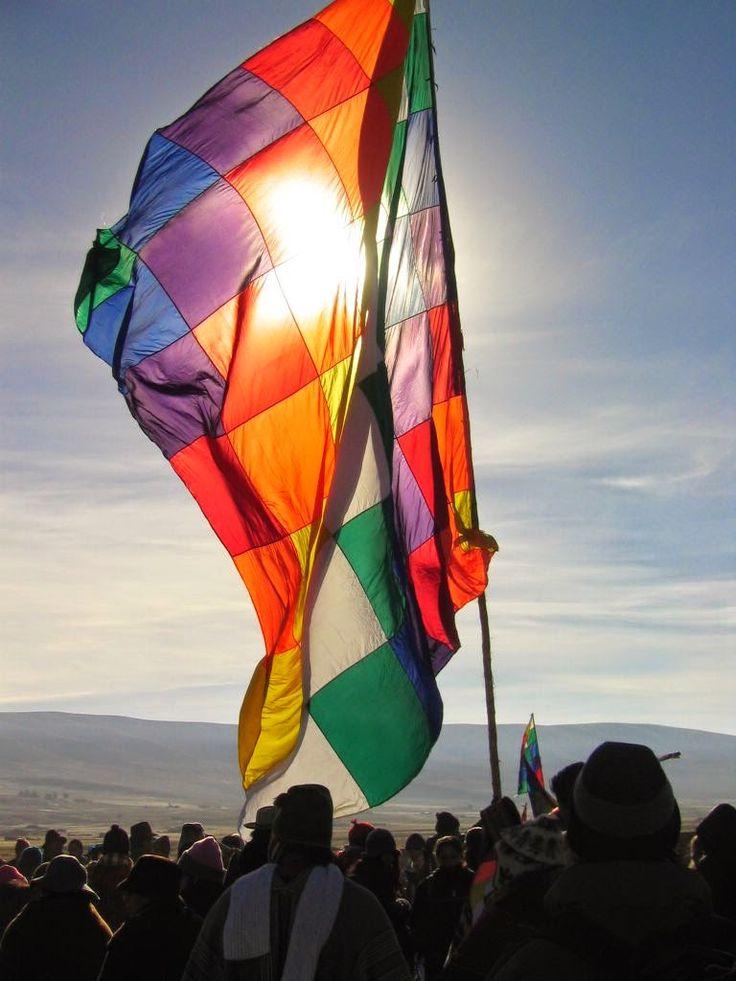 Pueblos originarios y su bandera