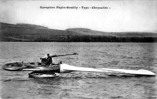Papin-Rouilly Gyroptere (Gyropter) | Old Machine Press