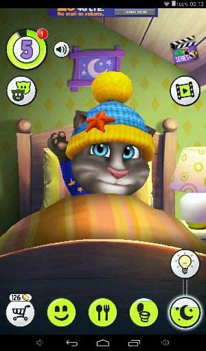 I love talking tom i named tom, cloud#get it#what did you say