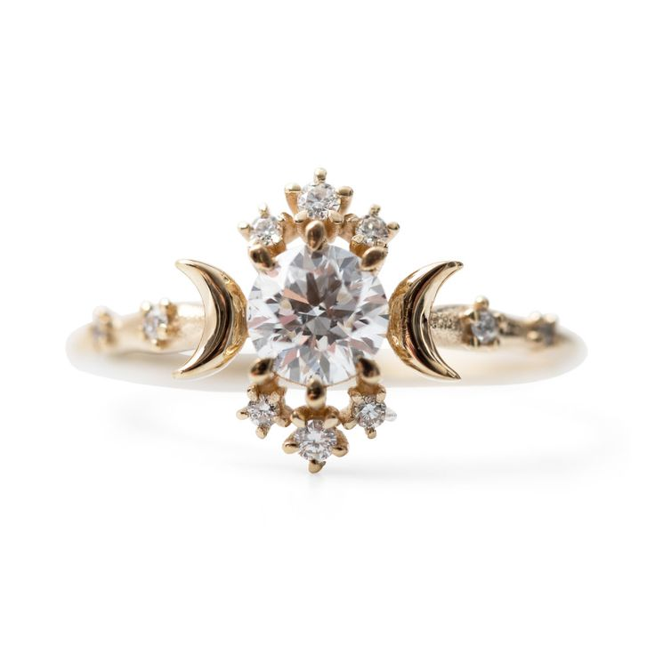 Hands down, the most stunning and perfect ring I have ever seen. Wandering Star Ring - Wedding & Engagement - Catbird ----