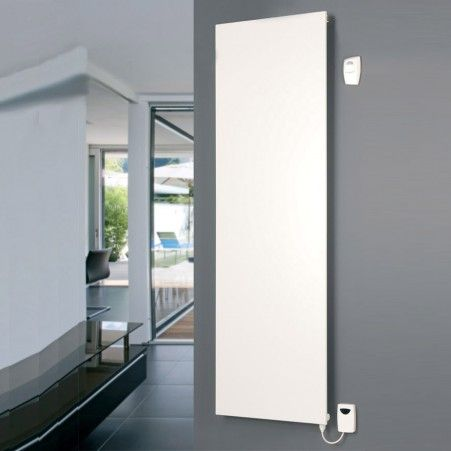 The white vertical designer radiator adds something special to your home's design!  Comes with a 10 year guarantee.
