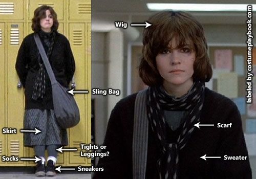 Breakfast Club Allison Reynolds Outfit