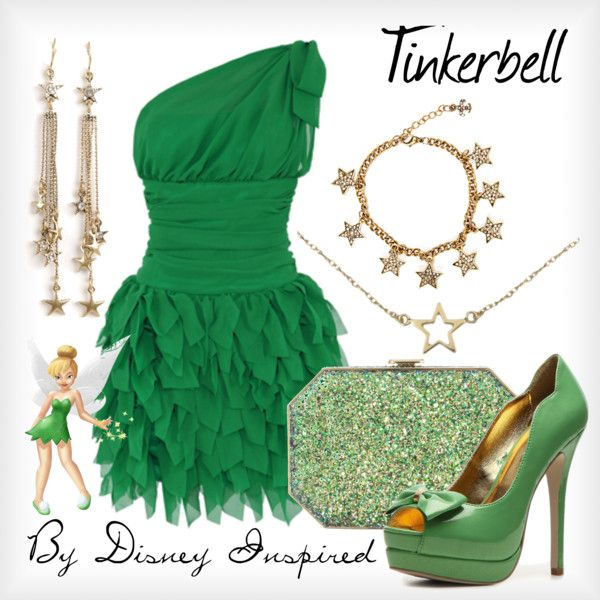 tinkerbell inspired clothes | fashion look from July 2012 featuring Michele dresses, C Label pumps ...
