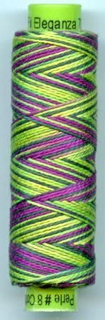 Eleganza Variegated #8 - EZM15 available in Canada at www.tyjos.com