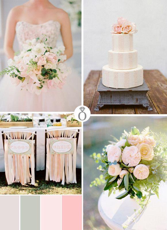 Wedding Color Palette / Paleta Ślubnych Kolorów