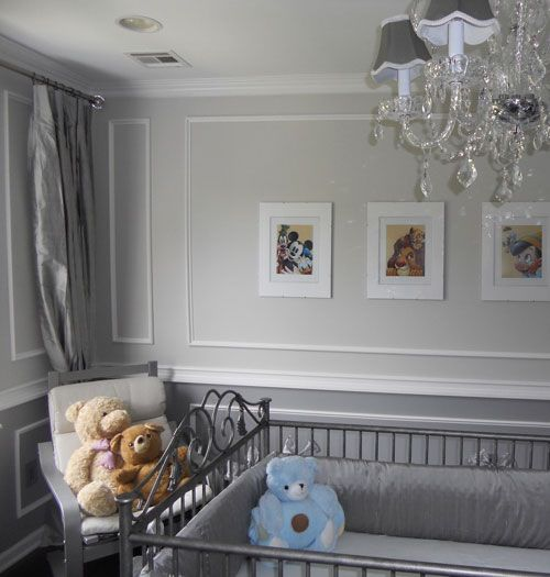 Soft And Elegant Gray And Pink Nursery: Google Image Result For Http://www.babylifestyles.com