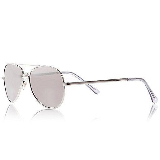 Boys silver tone sunglasses - sunglasses - accessories - boys