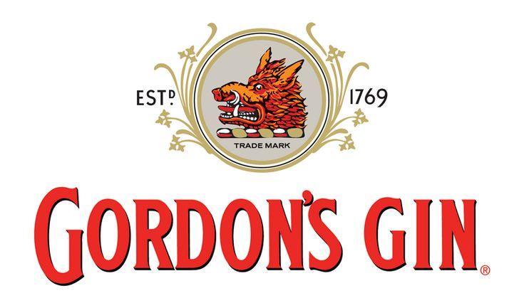 Gordons Gin Alcohol Brand Logos Pictures