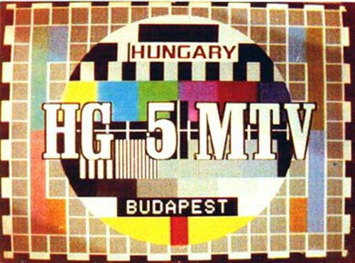 Hungary TV Test Pattern