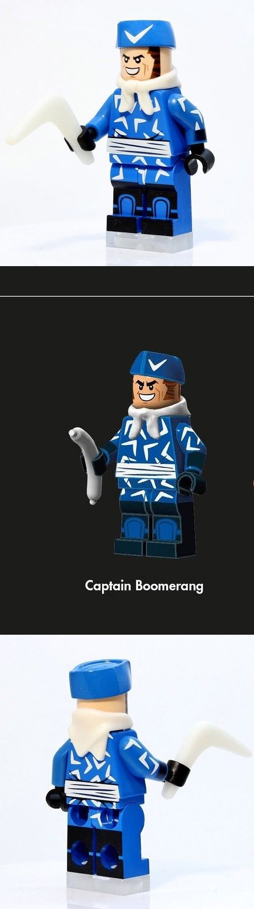 Mixed Lots 183451: A1322 Lego Custom Printed Inspired Captain Boomerang Minifig Batman Lego Movie -> BUY IT NOW ONLY: $31.88 on eBay!