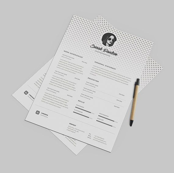 24 best Resume Templates images on Pinterest Cover letter - fill in resume template