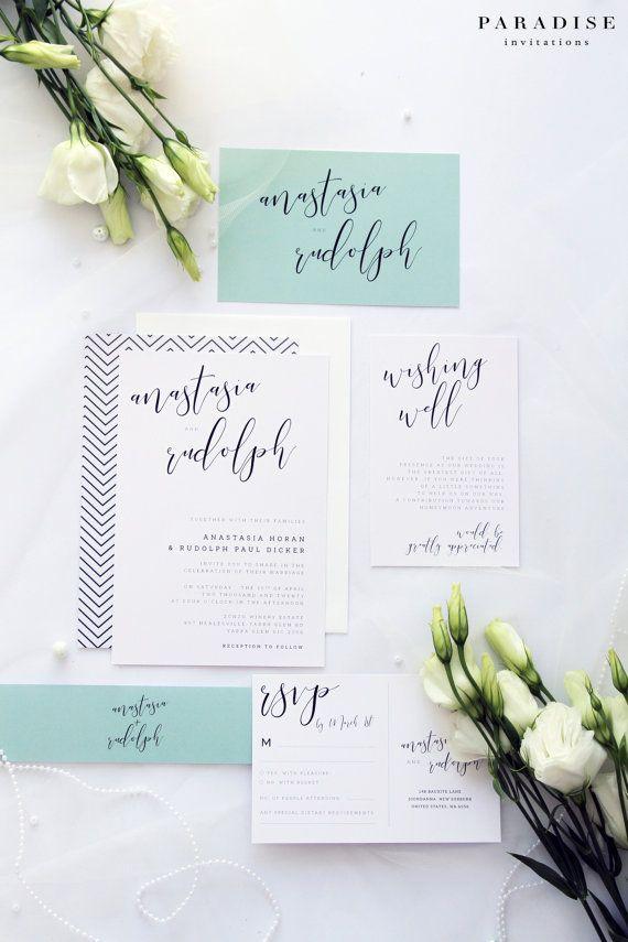 Felicity Siege Classy and Elegant Wedding Invitations