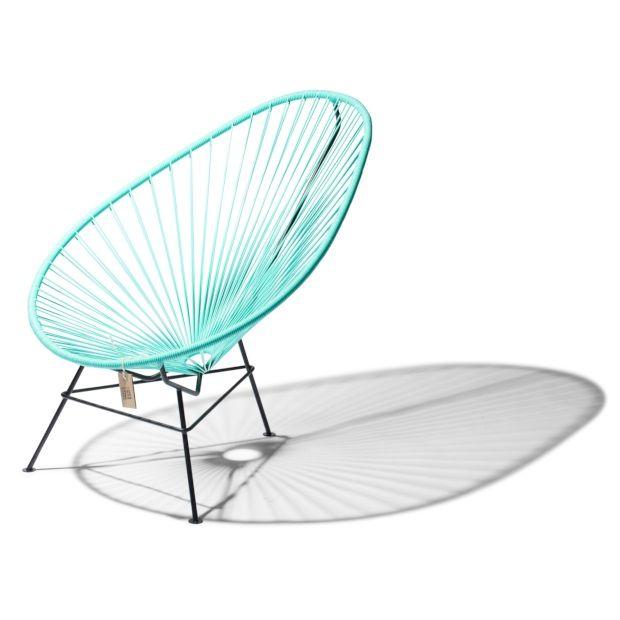 Fair Furniture Acapulco Stoel 75 cm - Licht Turquoise - afbeelding 2