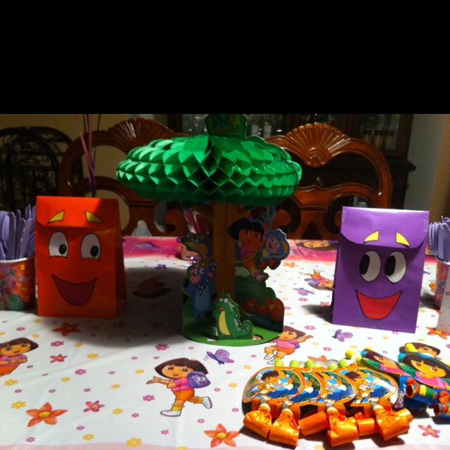 95 best Dora bday ideas images on Pinterest Dora the explorer