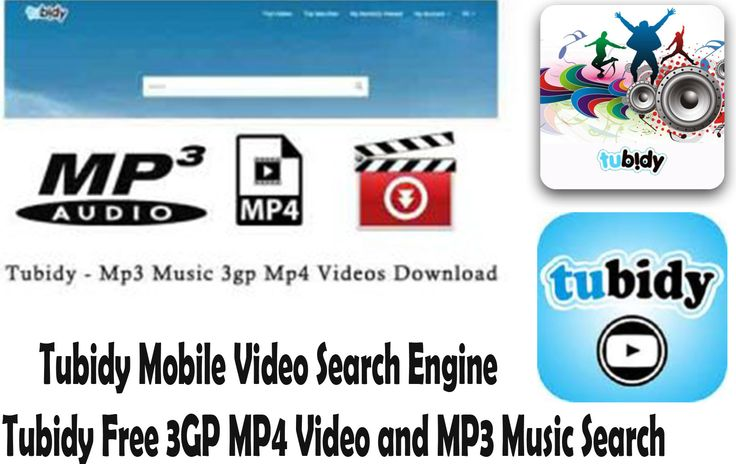 Tubidy mobile search engine free download
