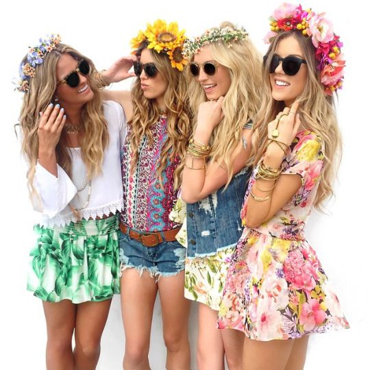 Find the perfect sunglasses to match with your flower crown! http://www.smartbuyglasses.com/designer-sunglasses/general/-Women----------------------