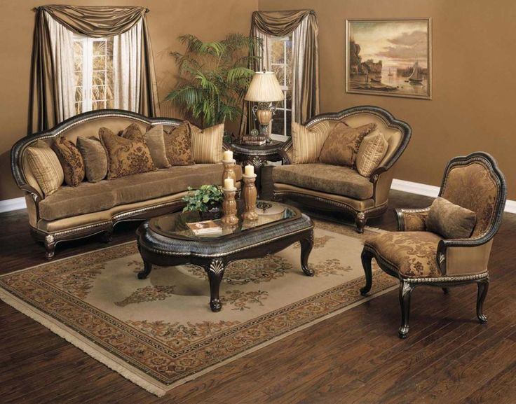 37 best Antique Style Formal Sofa Sets images on Pinterest Sofa - italian living room sets