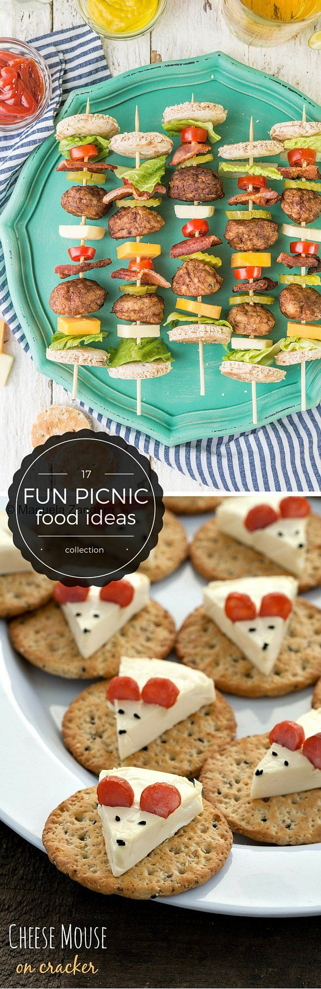 17 Fun Picnic Food Ideas                                                                                                                                                     More