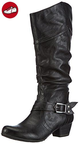 Tamaris 25518, Damen Biker Boots, Schwarz (Black 001), 37 EU (4 Damen UK) - Tamaris schuhe (*Partner-Link)