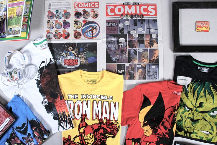 #Marvel Collection by Cropp