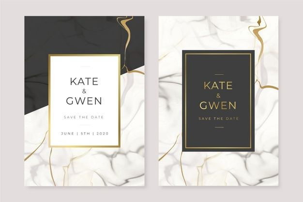 Download Wedding Marble Card Template For Free In 2020 Card Template Marble Card Wedding Invitation Vector