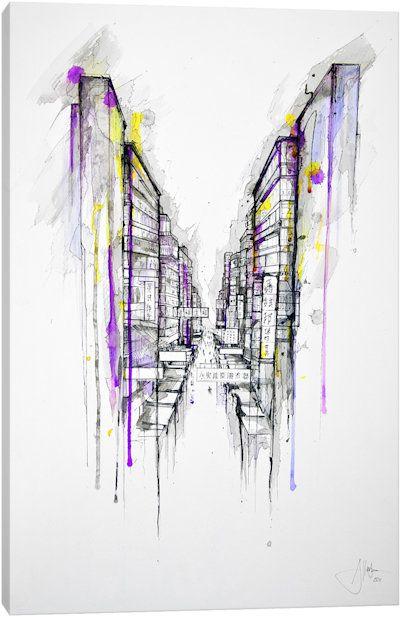This City Sleeps by Marc Allante Canvas Artwork