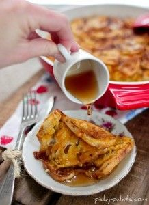 Pumpkin Pie French Toast Bake from Picky Palate (http://punchfork.com ...