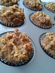 Banana bread mini muffins