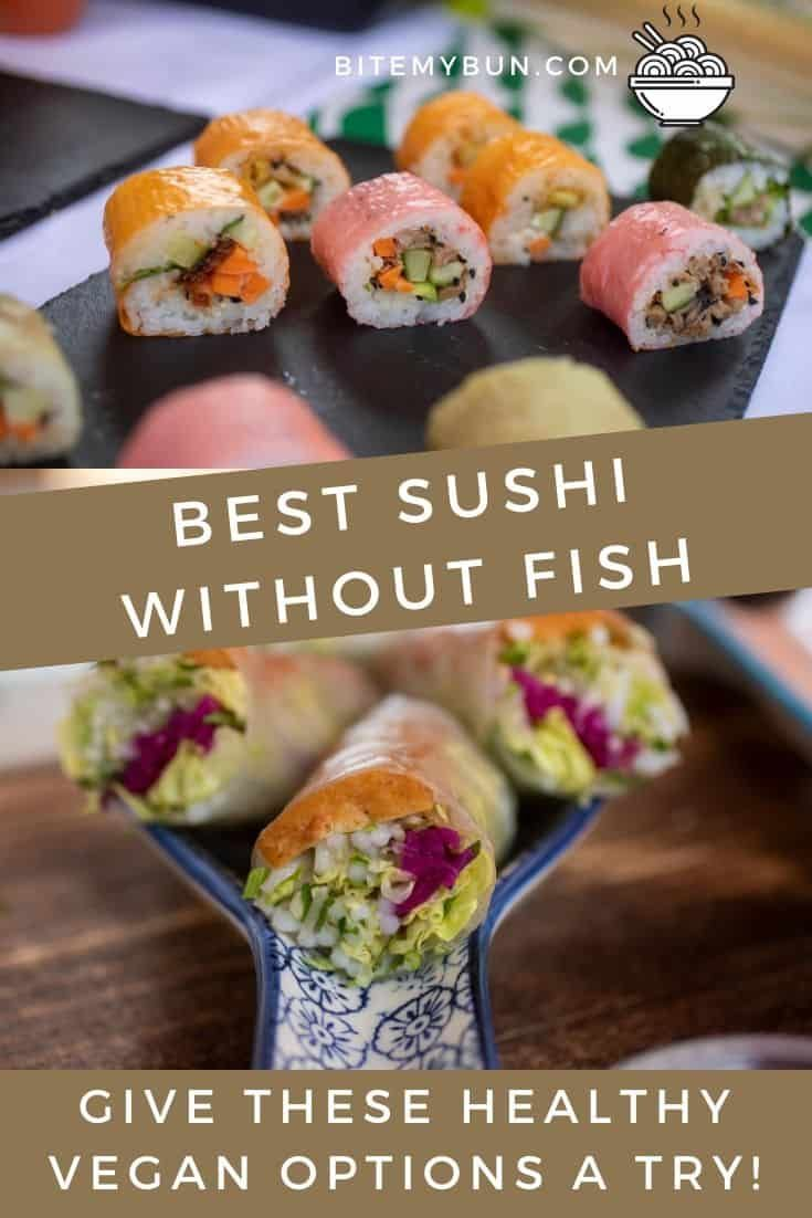 Sushi Without Fish Delicious Tofu Recipe More Fillings Discussed Recipe Sushi Recipes Sushi Recipes Homemade Delicious Tofu