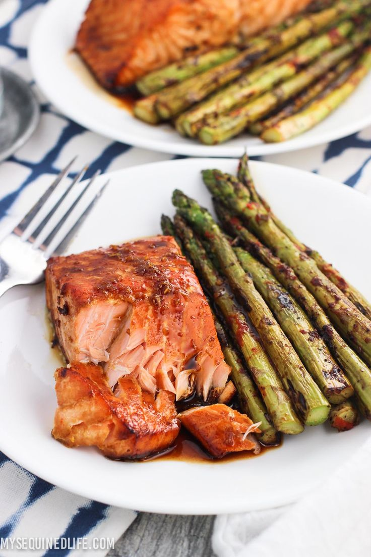 Sweet and Spicy Orange Salmon is a family favorite with an easy and flavorful sauce. Takes 45 minutes (including time to marinate)!