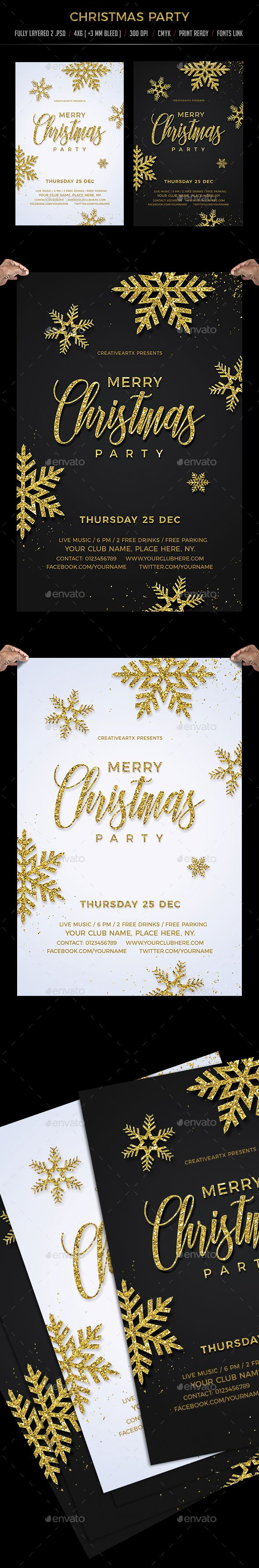 business event invitation templates%0A  Christmas  Party Template