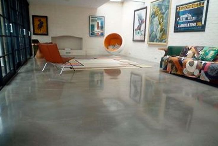 17 best ideas about polished concrete flooring on for Cost to level floor in house