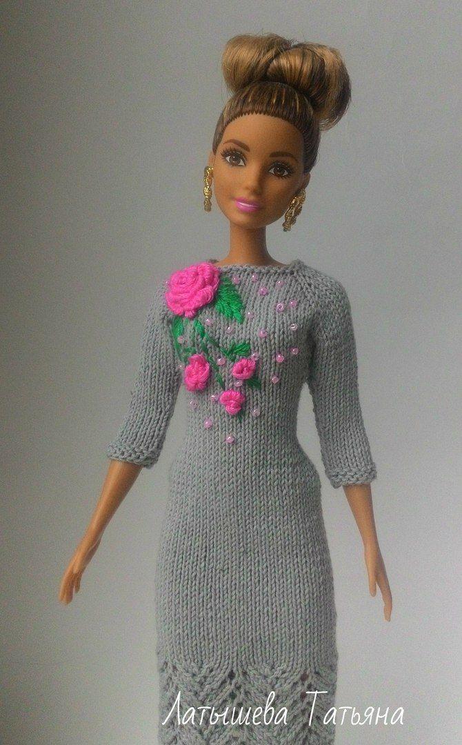 964489b2cb074 Épinglé par Isabelle Compain sur Tricot pour Barbie