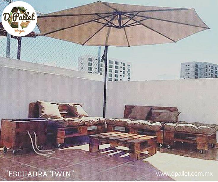 Sala Escuadra Twin  Informes: ventas@dpallet.com.mx WhatsApp 3310554119 Tel. 10320165  #pallet #palletfurniture #palet #muebles #mueblesconpalets #eco #ecofriendly #tarimas #ecologia #diseño #diseñomexicano #interior #interiordesign #petfriendly #pet #diseñointerior #interiorismo #guadalajara #cdmx #arquitectura #reciclaje #restauracion