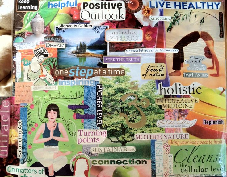 how to create a vision board the secret